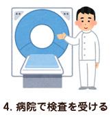 4. 病院で検査を受ける