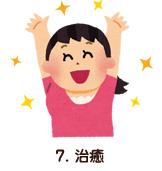 7. 治癒